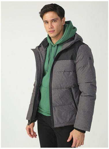 Dockers Dockers Mix Media Hoody Mont Gri